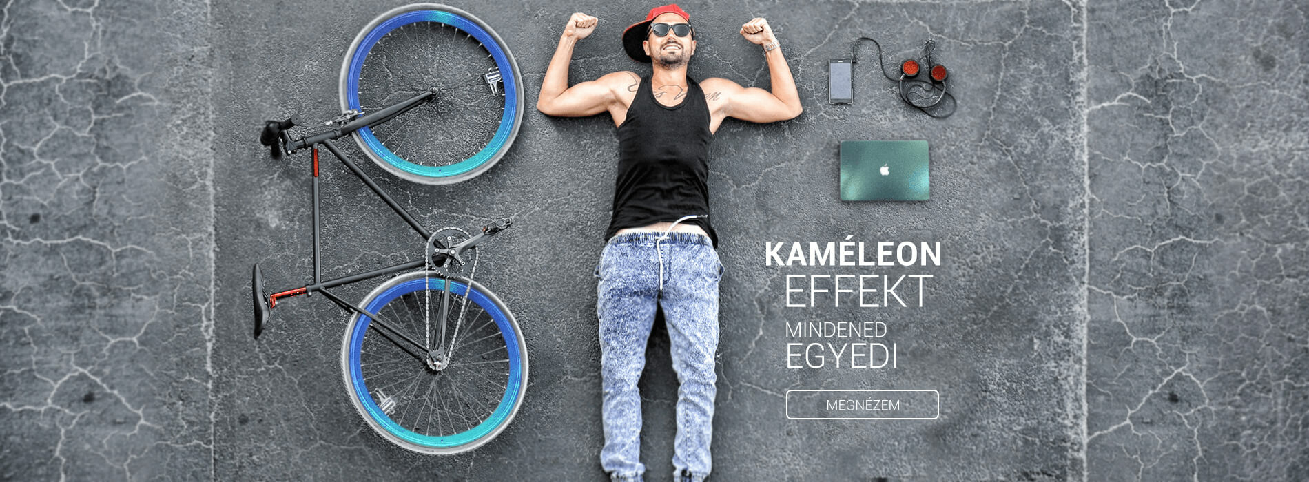 Kaméleon bicikli