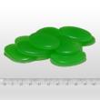 Innodekor foszforeszkáló dekor kavics - lapos, zöld, 10db