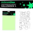 UnikromGlow foszforeszkáló dekor matrica - halloween 1.