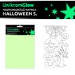 UnikromGlow foszforeszkáló dekor matrica - halloween 5.