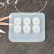 Öntőforma szilikonból - gyöngy, kristály kocka, nagy