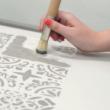Festősablonnal festés