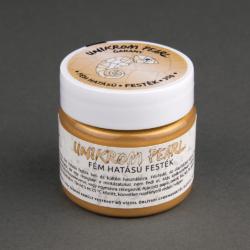 UnikromPearl fémhatású festék - óarany, 30g