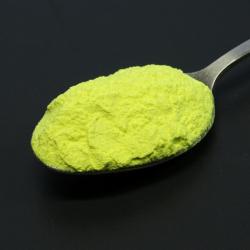 Foszforeszkáló pigment por - színezett - citrom