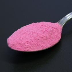 Foszforeszkáló effektpigment - színezett - magenta