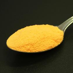 Foszforeszkáló effektpigment - színezett - narancs