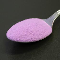 Foszforeszkáló effektpigment - színezett - ibolya
