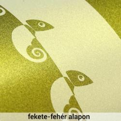 Gyöngyház effektpigment - klasszikus sorozat - gyöngy arany