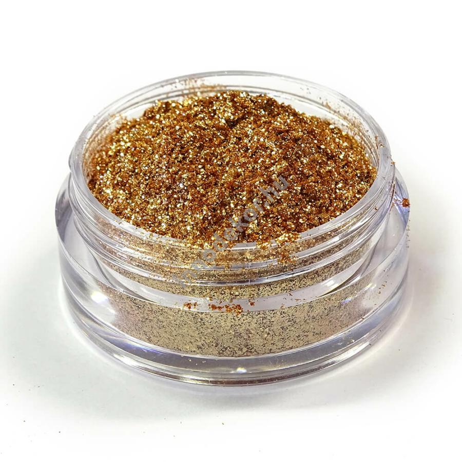 Innodekor metáleffekt pigment - bronz csillám, 10g