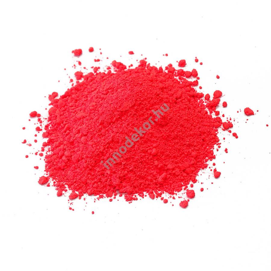 Fluoreszkáló (neon) pigment por - korall