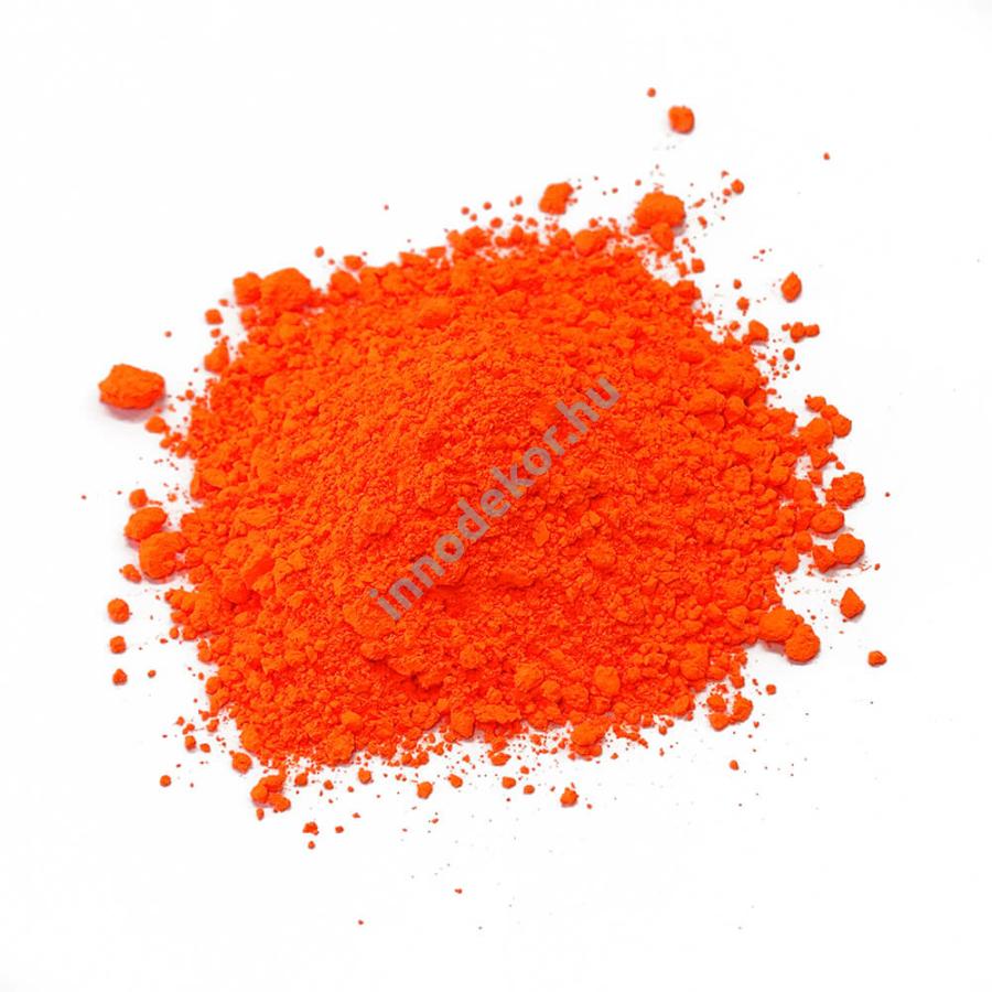 Fluoreszkáló (neon) pigment por - narancs
