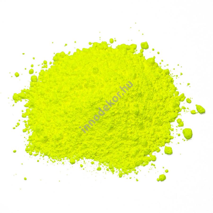 Innodekor fluoreszkáló (neon) pigment por - citrom, 3g