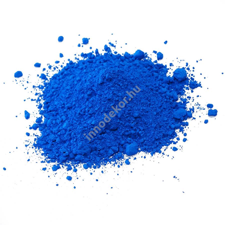 Fluoreszkáló pigment por - kék