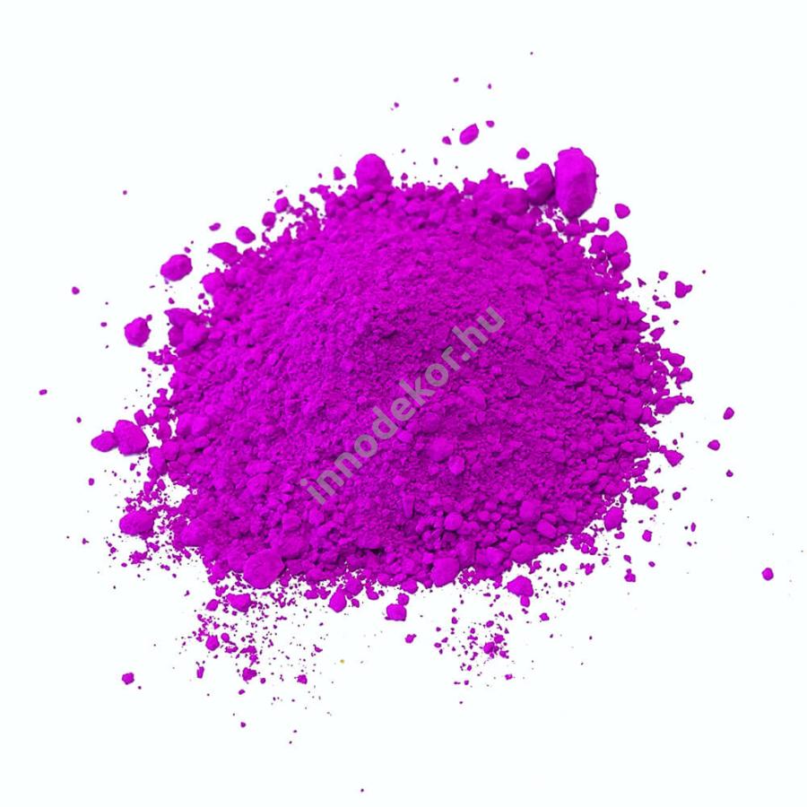 Fluoreszkáló (neon) pigment por - ibolya