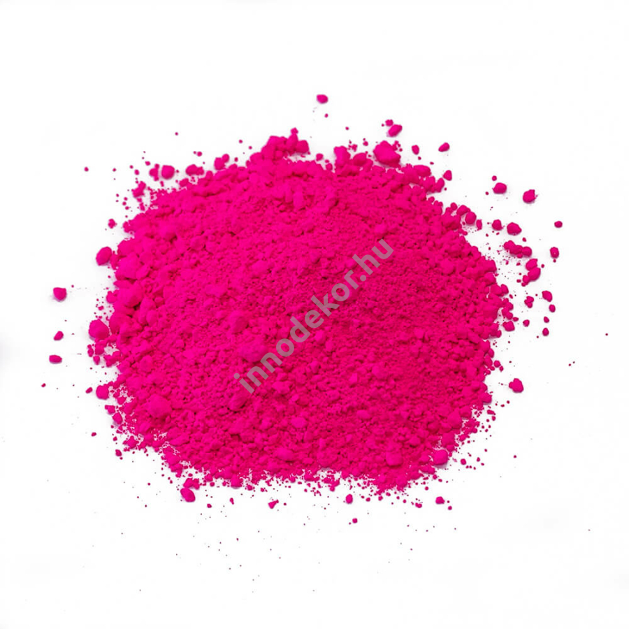 Fluoreszkáló (neon) pigment por - magenta