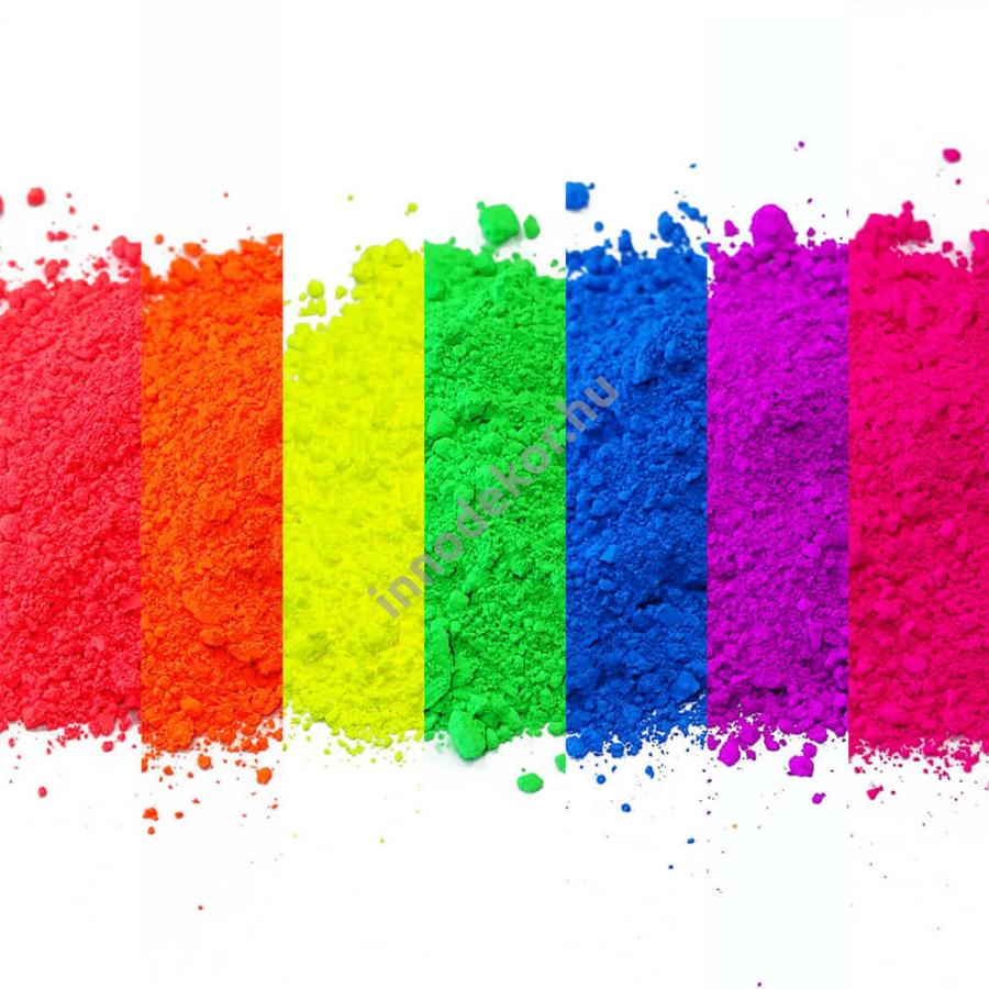 Fluoreszkáló effektpigment - teljes paletta, 20% kedvezménnyel!