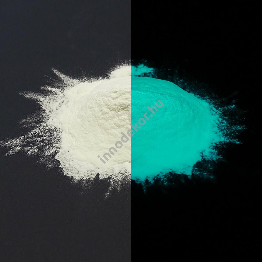 Innodekor foszforeszkáló pigment - vízkék