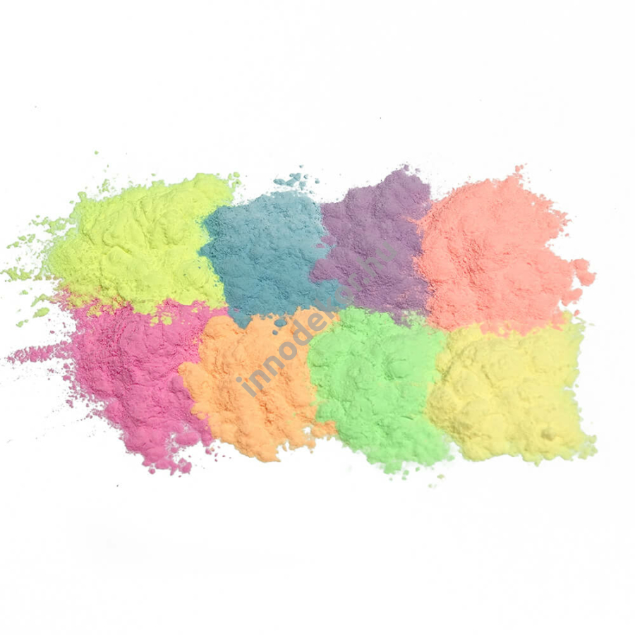 Foszforeszkáló effektpigment - színezett, teljes paletta, 20% kedvezménnyel!