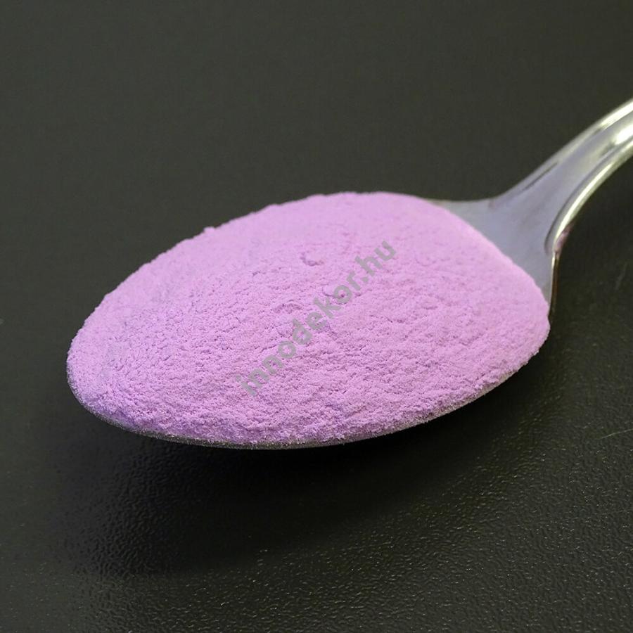 foszforeszkáló pigment - ibolya