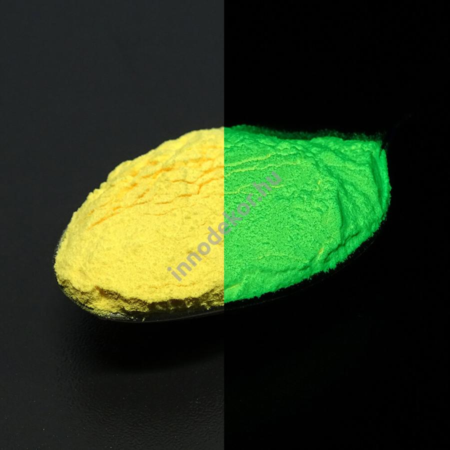 Innodekor foszforeszkáló pigment - napsárga
