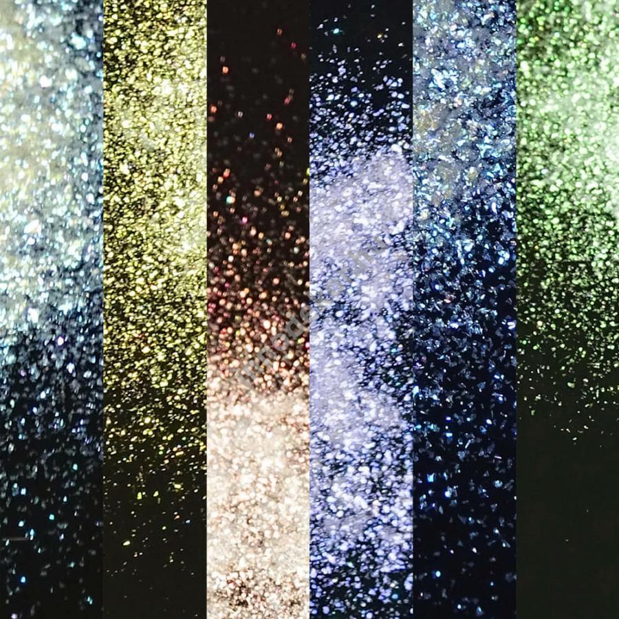 Gyémántfényű effektpigment - csillám, teljes paletta, 20% kedvezménnyel!