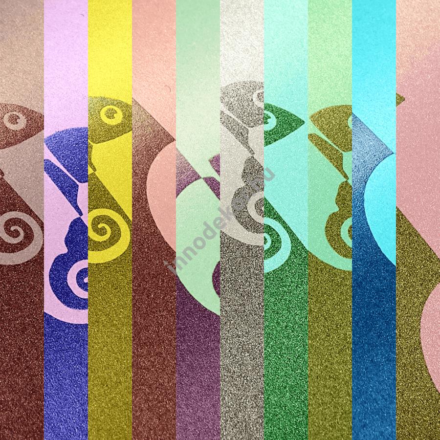 Gyöngyház effektpigment - szivárvány sorozat, teljes paletta, 20% kedvezménnyel!