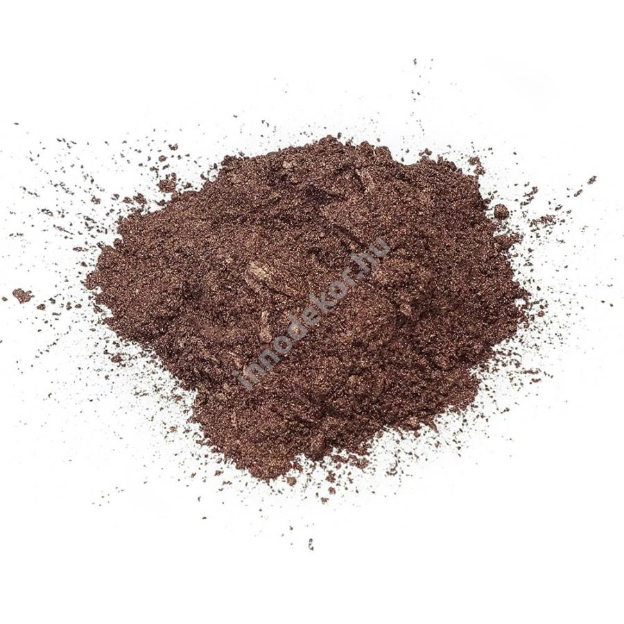 Innodekor gyöngyház hatású mica pigment por - rubinbarna