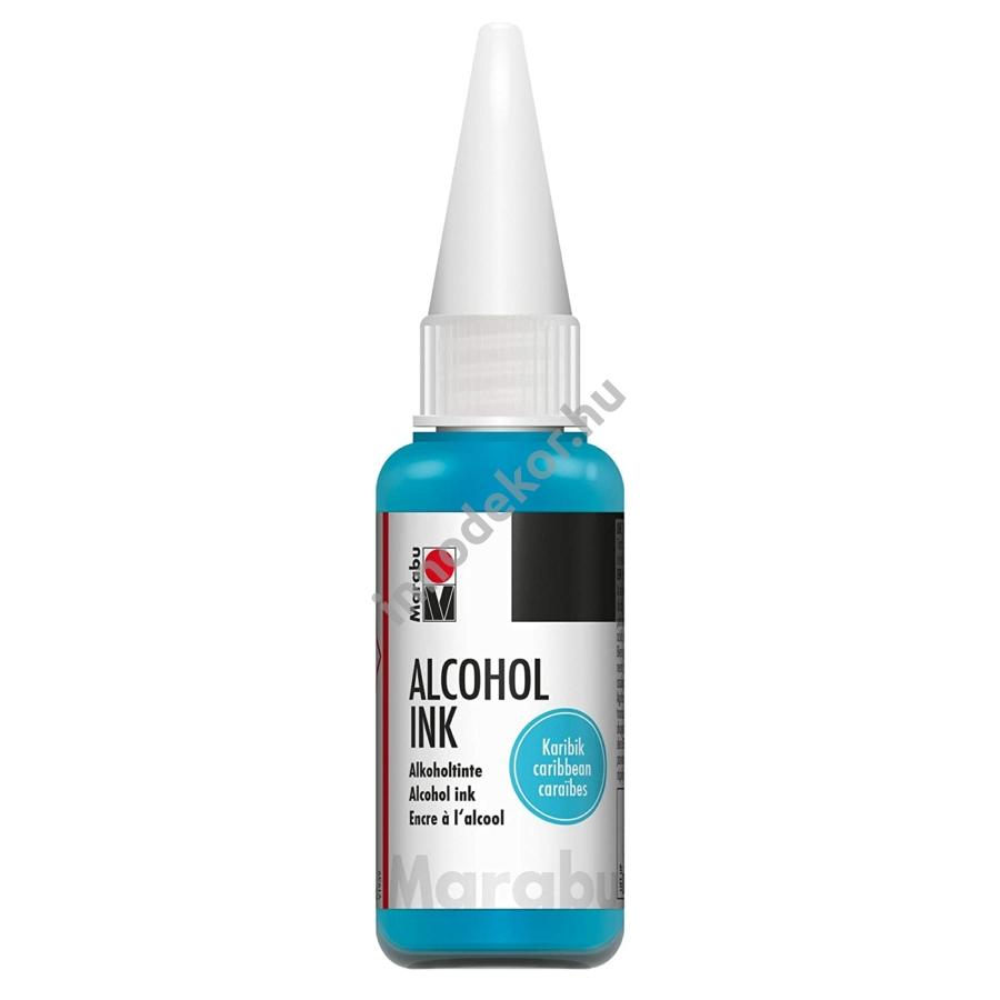 Marabu alcohol ink - karikék
