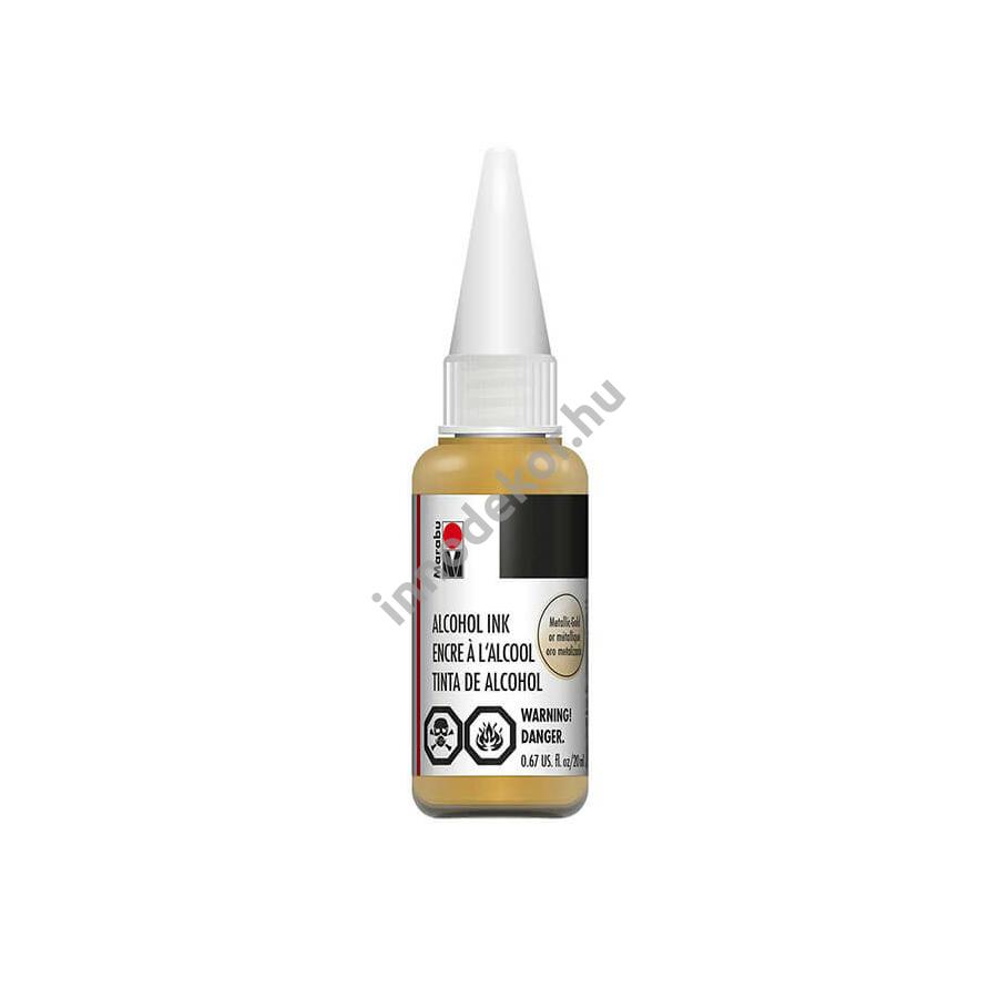 Marabu alcohol ink - metál arany