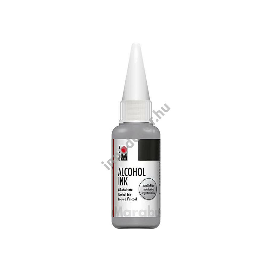 Marabu alcohol ink - metál ezüst