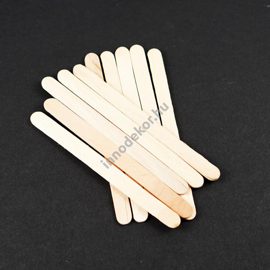Fa spatula - 10 db