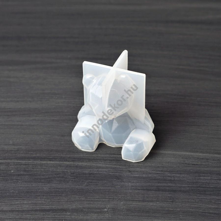 Öntőforma szilikonból - medve