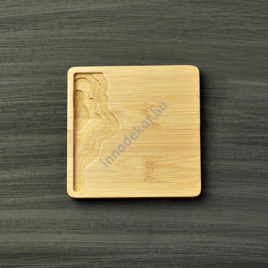 Bambusz alátét - négyzet alakú