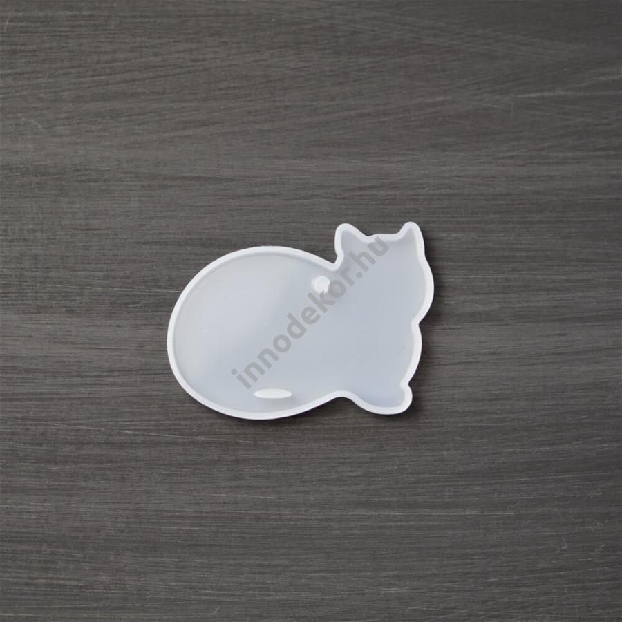 Öntőforma szilikonból - macska