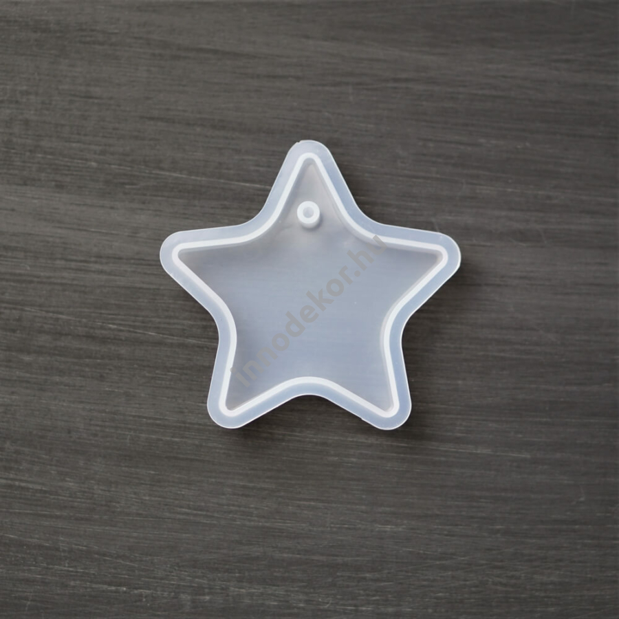 Öntőforma szilikonból - csillag
