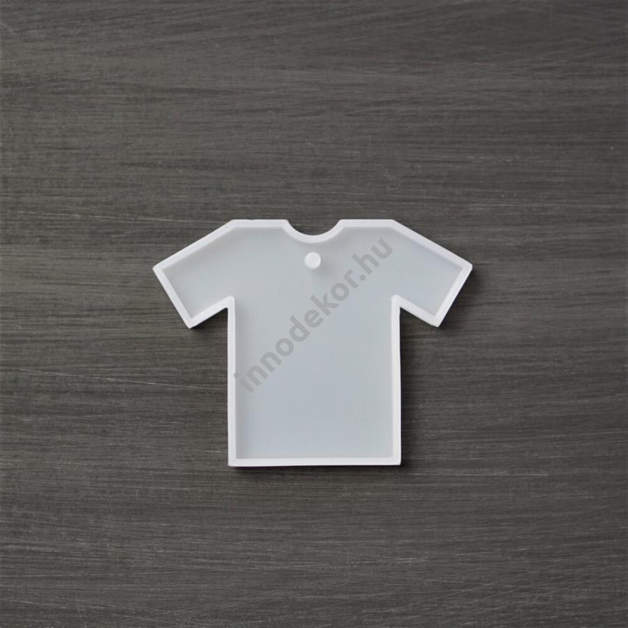 Öntőforma szilikonból - póló