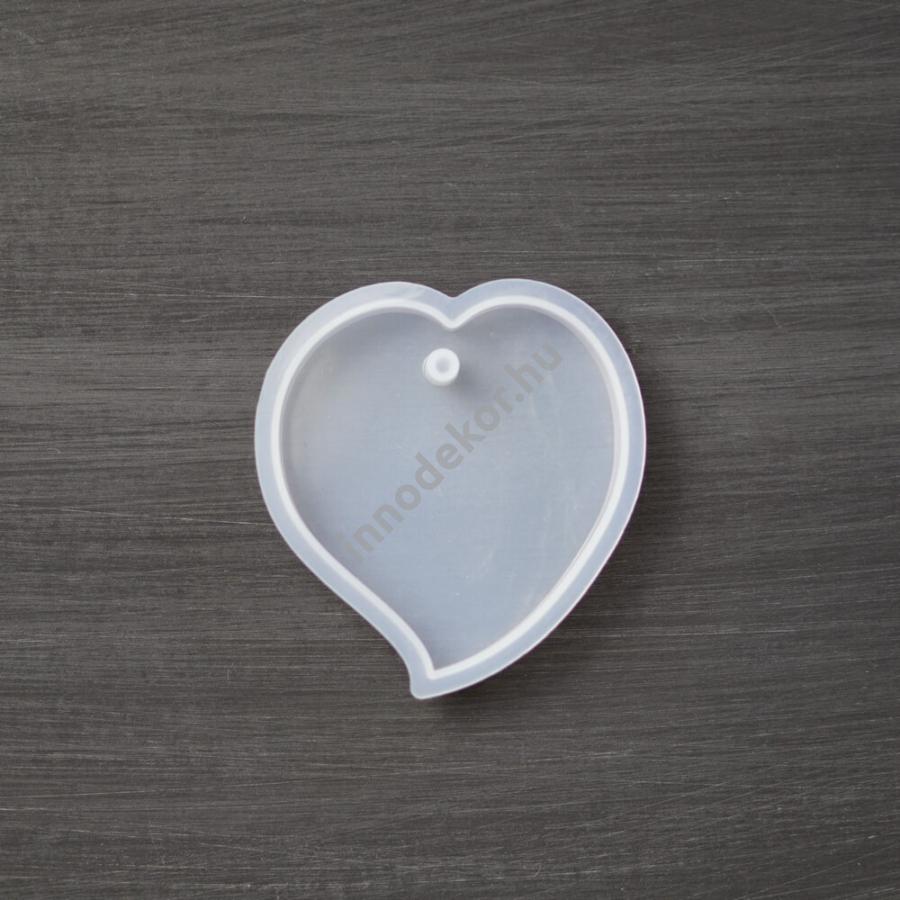 Öntőforma szilikonból - szív