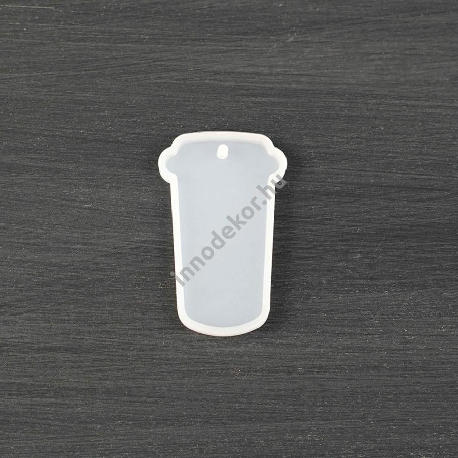 Öntőforma szilikonból - kávés pohár