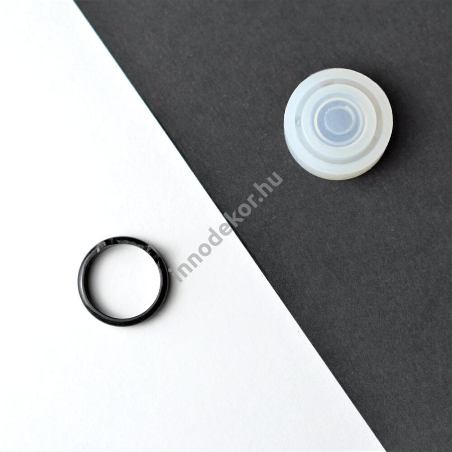 Öntőforma szilikonból - gyűrű 1.