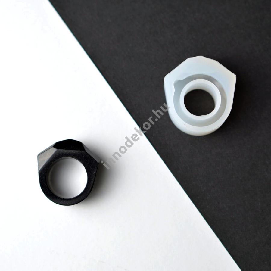 Öntőforma szilikonból - gyűrű 3.