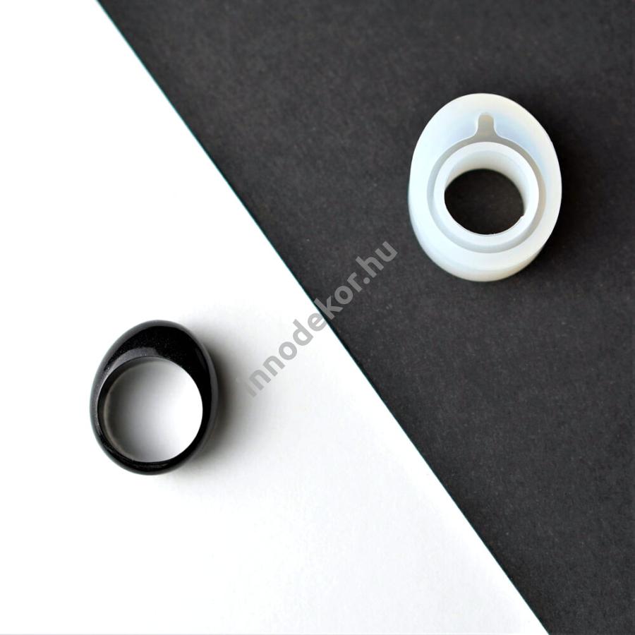 Öntőforma szilikonból - gyűrű 4.