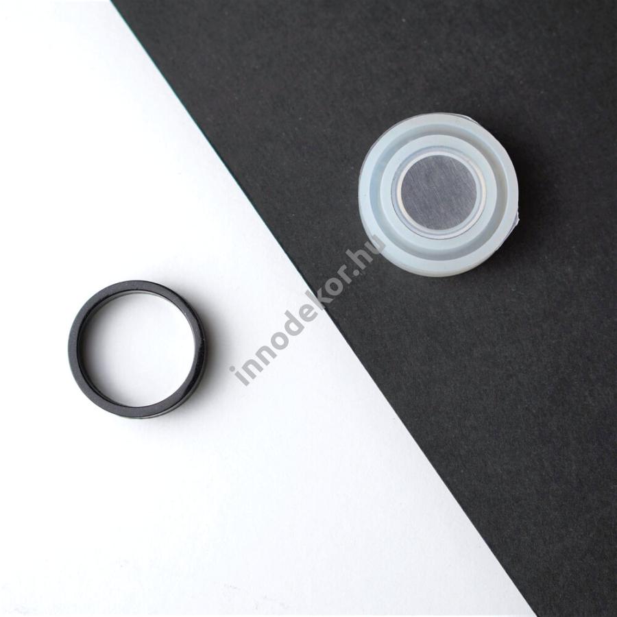 Öntőforma szilikonból - gyűrű 7.