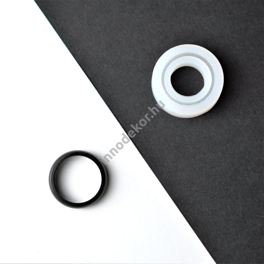 Öntőforma szilikonból - gyűrű 9.