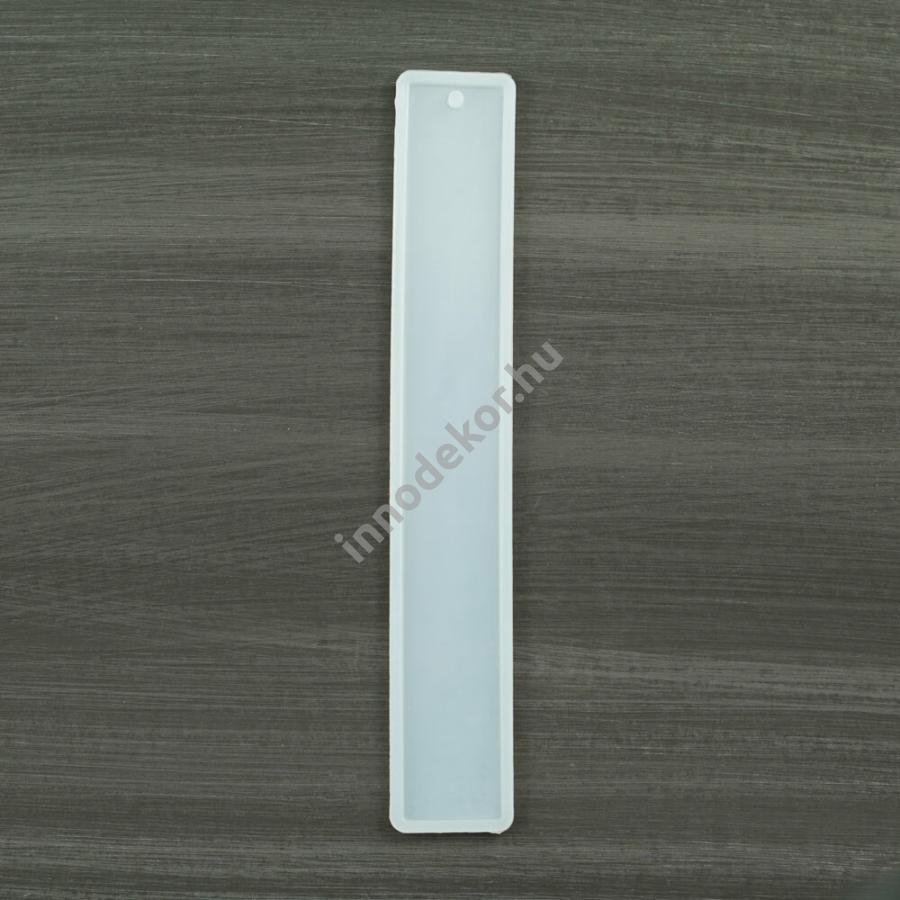 Öntőforma szilikonból - könyvjelző, alap, hosszú