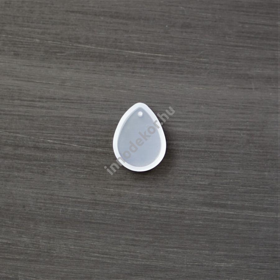Öntőforma szilikonból - medál, csepp