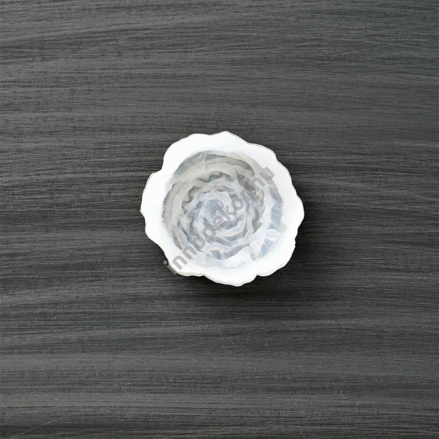 Öntőforma szilikonból - virág 7.