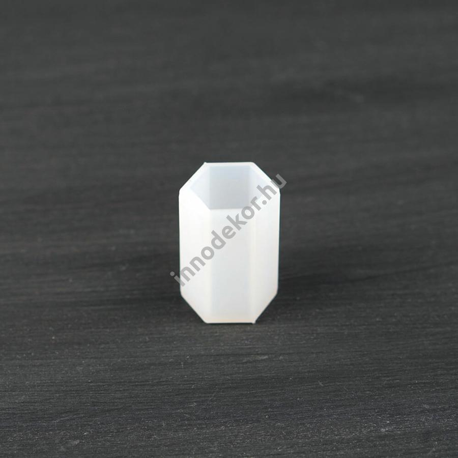 Öntőforma szilikonból - téglatest, 2 x 4 cm
