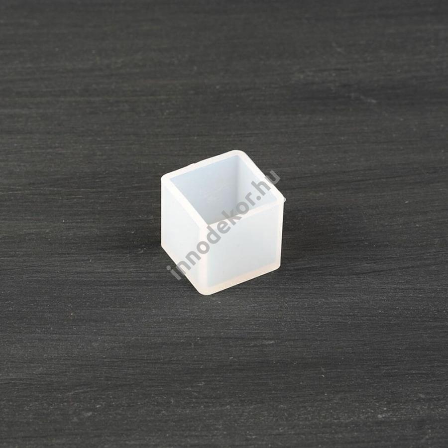 Öntőforma szilikonból - kocka, 2,5 cm