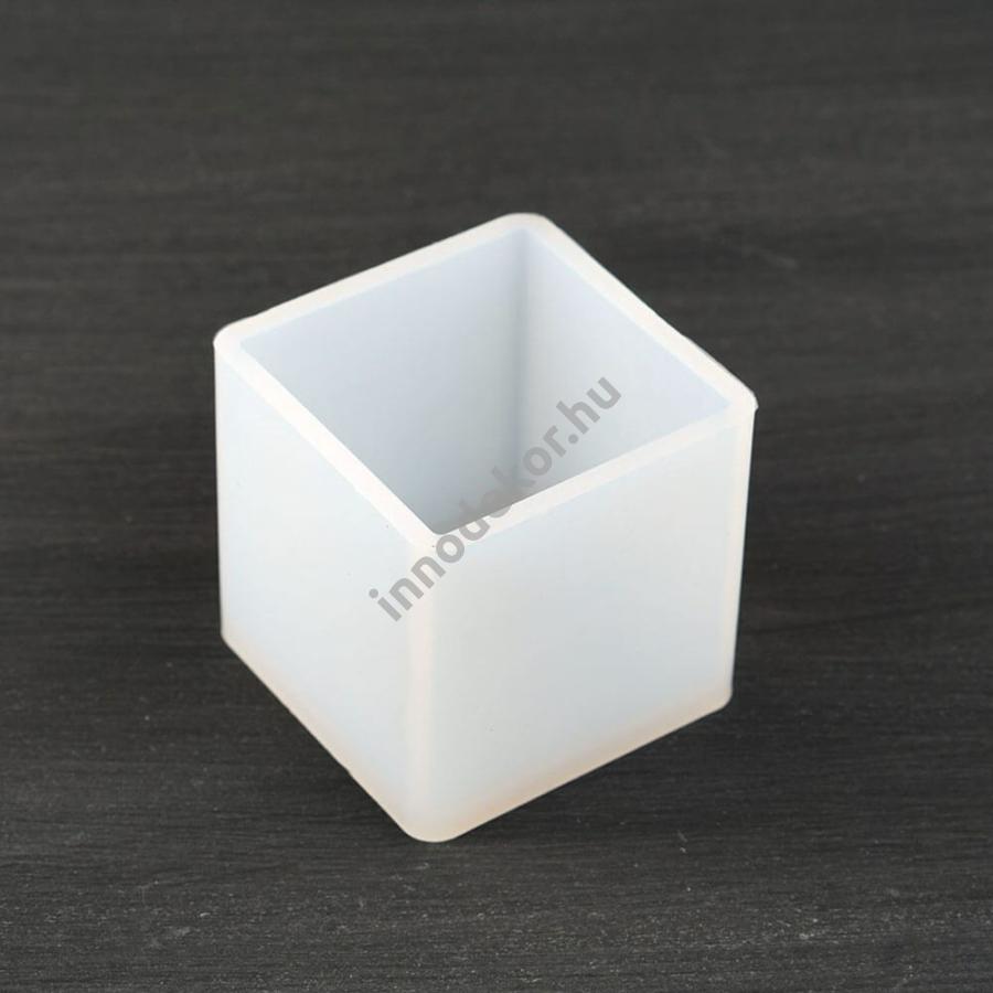 Öntőforma szilikonból - kocka, 5 cm