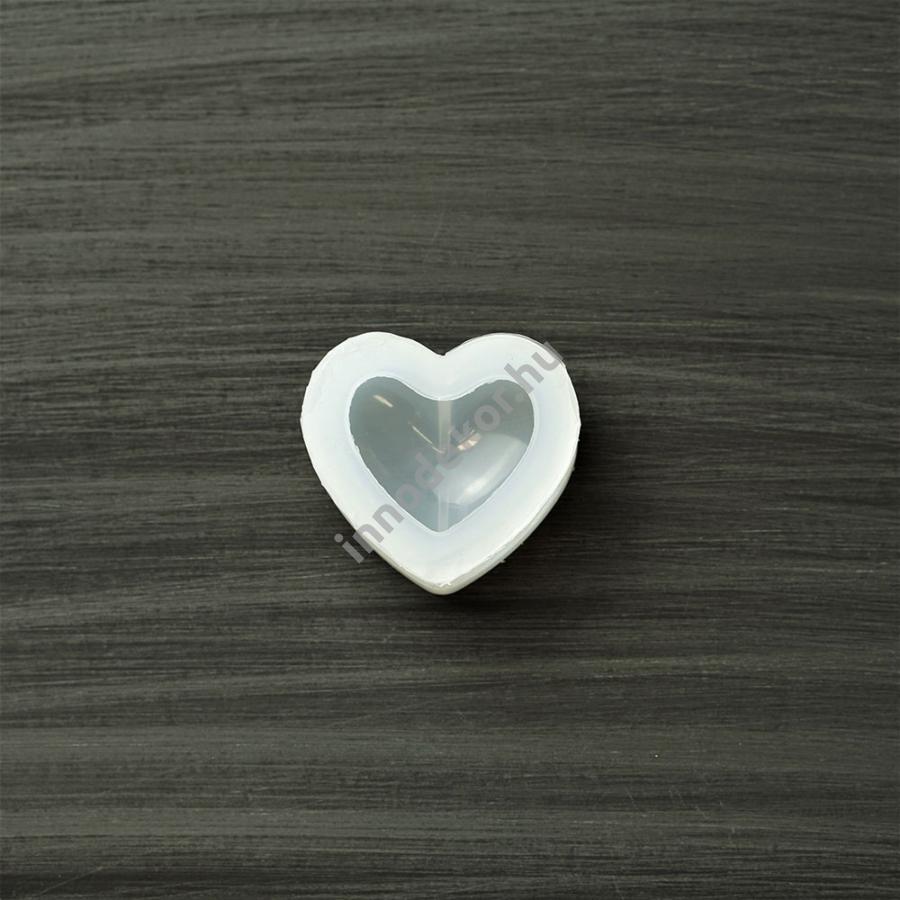 Öntőforma szilikonból - kicsi szív